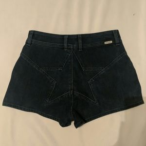 Wrangler for urban outfitters shorts star butt